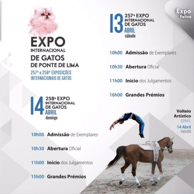 Exposicion Internacinal Ponte de Lima 13 y 14 de Abril