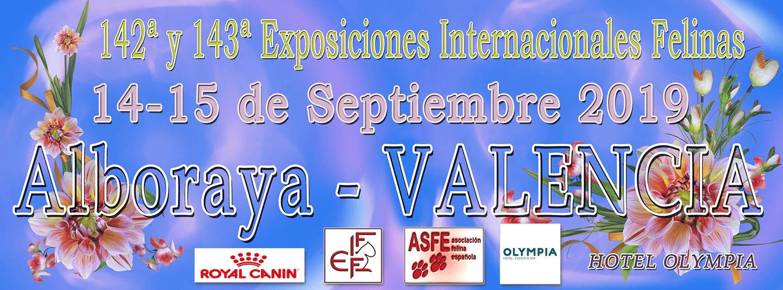 Exposición Internacional 14-15 de septiembre Alboraya(Valencia)